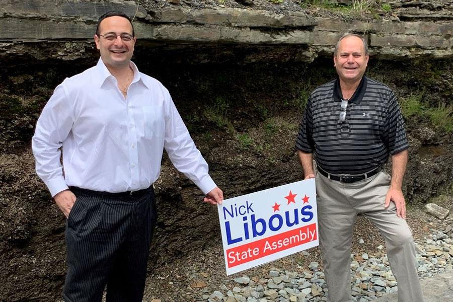 Dan Schofield and Nick Libous